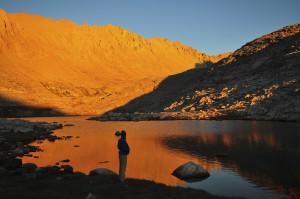 Guitar Lake, Sequoia National Park, US.
