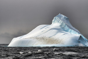 Lone Iceberg at the end of the Earth...