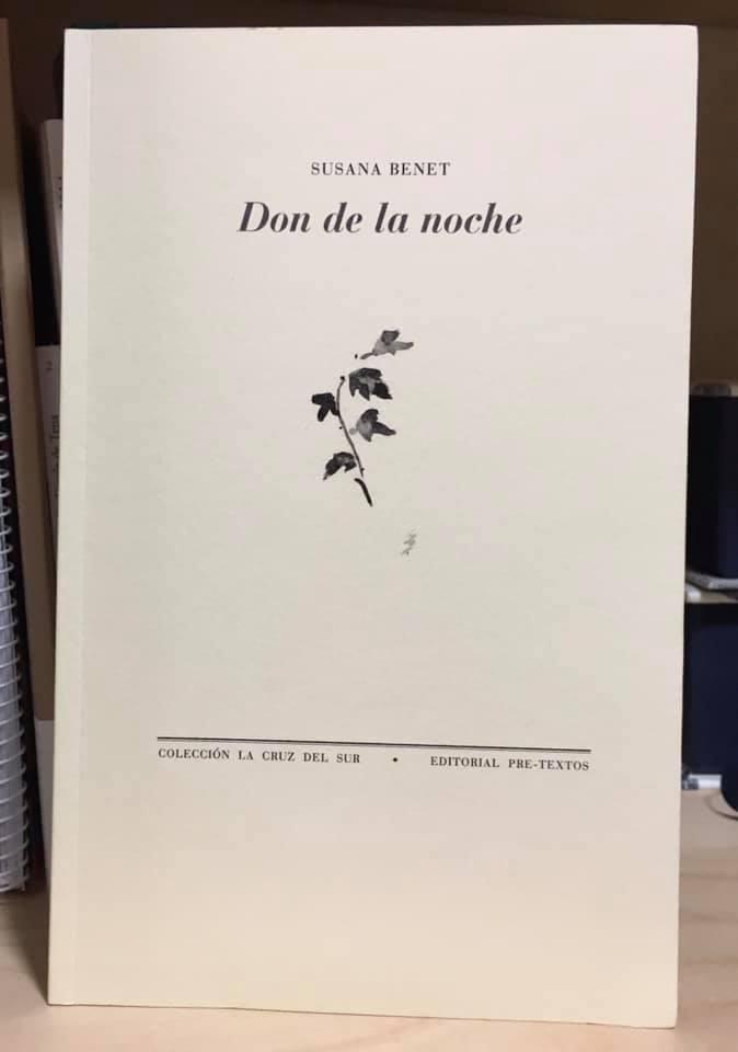 EL DON DE LA NOCHE por Susana Benet